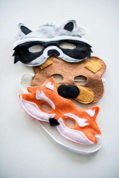 Фетровые маски (10 фото) - картинка