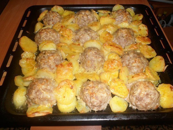 Вторые блюда с фарша рецепты с фото