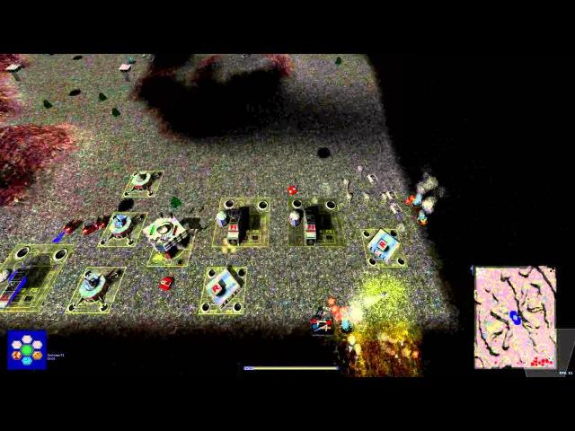 Warzone 2100 WT 2015 LadyFox vs RBMW Fenrir on Darkness