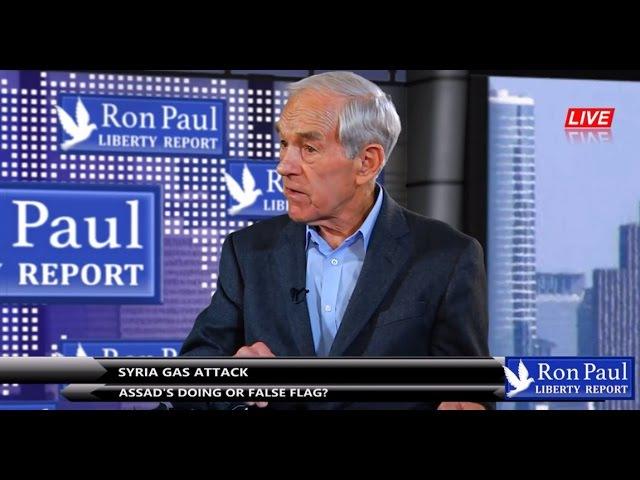 Ron Paul: Chemický útok v Sýrii - Dielo Asada, alebo útok pod falošnou vlajkou?