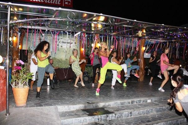 Зумба фитнес вечеринка
