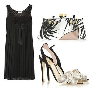 Черное Платье С Чем Носить