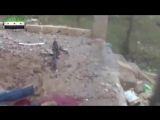 18 Сирия Террорист ИГИЛ получает пулю снайпера