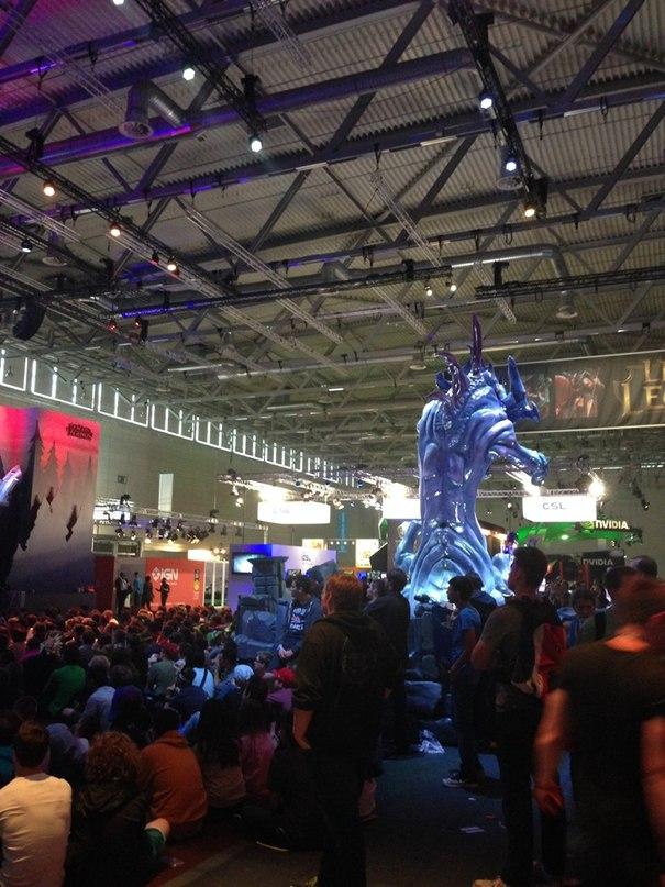 gamescom2014 в Кельне