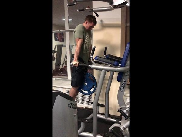SuSu Challenge Dips 45 lbs ( 20kg) battle 1