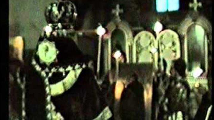 Архиепископ Мелхиседек Лебедев освящает храм Ал Невского
