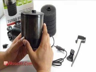 Оборудование для аквариума. Помпа фильтр AQUAEL Turbo Filter. Видео обзор.