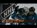 Sharks complete series sweep Forsberg nets gorgeous tally
