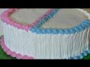 Торт для двойняшек Кремовые торты для детей _ Olya Dudnik