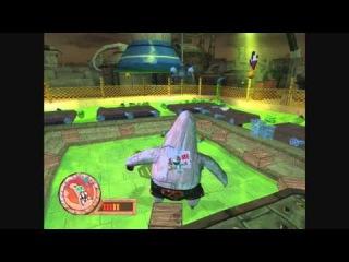 Spongebob Squarepants Battle for Bikini Bottom - Walkthrough Part #17 - Robot Patrick Boss Battle
