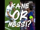 Гарри Кейн против Лионеля Месси