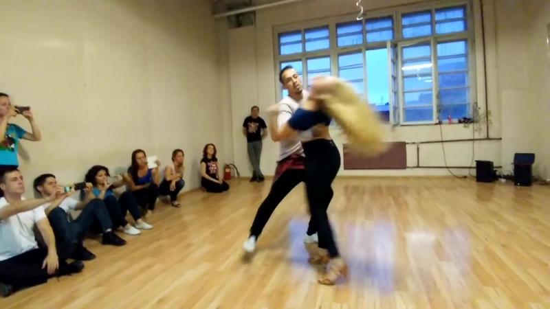 CarlosAnastasia - How do I say by Usher - Zouk Demo in St. Petersburg