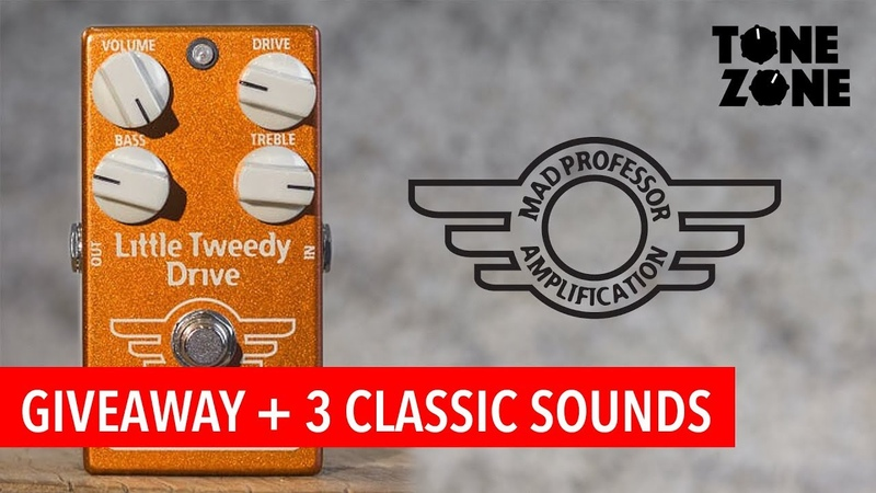 3 Classic sounds Mad Professor Little Tweedy Drive | Tone Zone