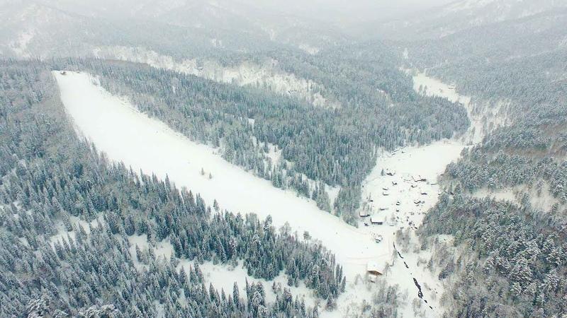 Новый горнолыжный комплекс на курорте Белокуриха! Таежная заимка «Лесная сказка»