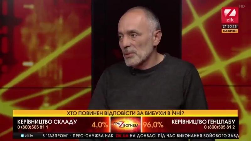 За втрату стратегічних запасів боєприпасів під час війни говнокомандувач повинен подати у відставку, - Юрій Касьянов