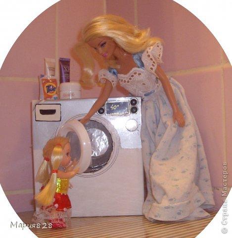 Как сделать стиральную машинку для кукол