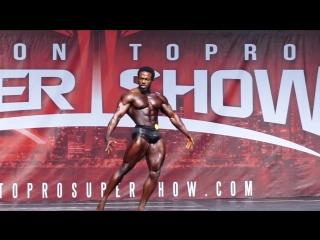 Terrence Ruffin Toronto Pro 2018 winning posing routine