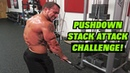 The Triceps Pushdown Stack Attack Challenge   CONQUER THAT CABLE