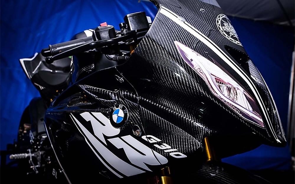 Первые фото BMW G310RR Supersport?!