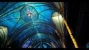 Красочное световое шоу в базилике Нотр Дам Монреаль