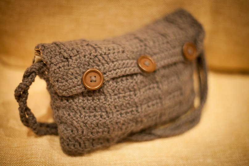 Вязание маленькие сумочки крючком 42