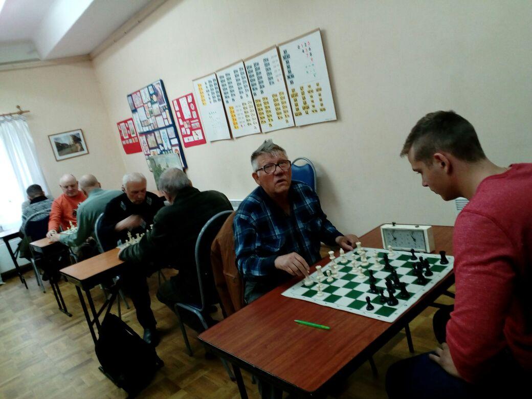 """шахматы в клубе """"Сфера"""""""