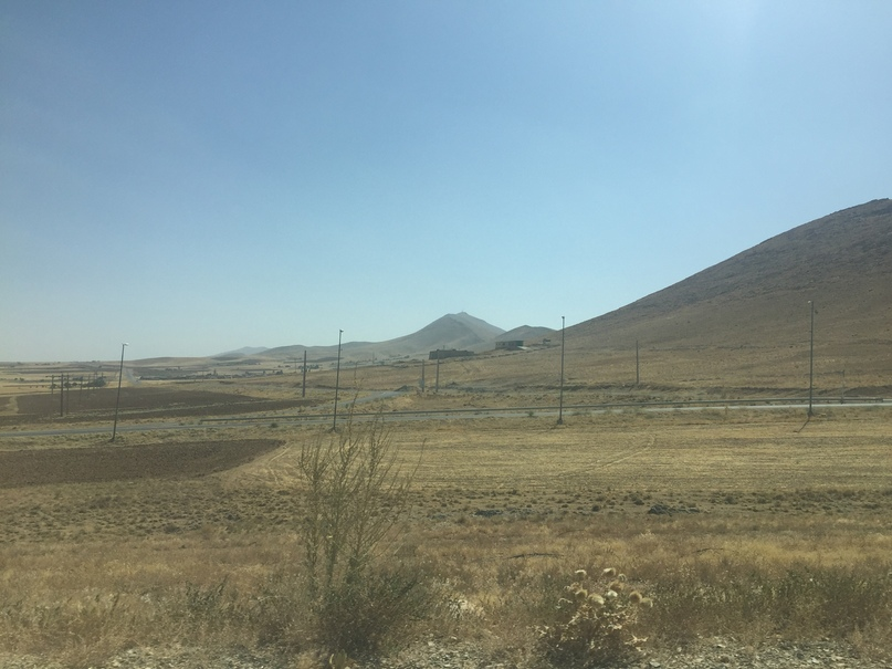 Иран 4. Окрестности Али-Садра