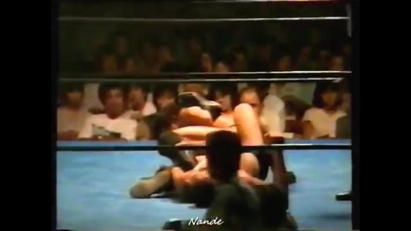 Akira Maeda vs. Yoshiaki Fujiwara (1985/8/25 - Gifu)