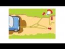 Как вытащить застрявший автомобиль в одиночку mp4