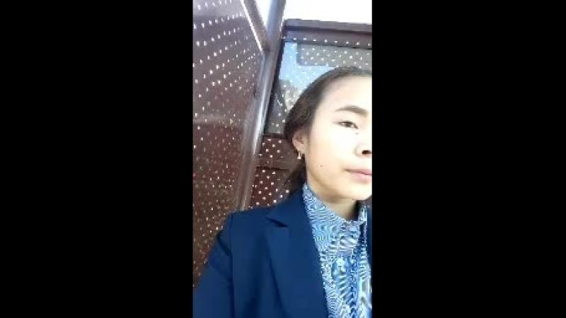 Гулдария Керимбекова - Live