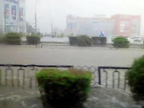 В Волгограде введен режим ЧС из-за сильных дождей - Вести 24