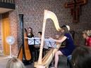 Magdalena Lutz and Mariam Brehm дуэт арф - Siciliana муз. Ottorino Respighi