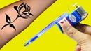 How To Make Simple Tattoo Machine At Home