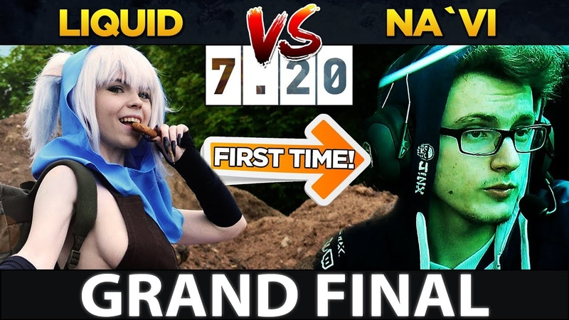 LIQUID vs NAVI - GRAND FINAL - MIRACLE- FIRST TIME MEEPO ON PRO DOTA in 7.20 - MegaFon Winter Clash