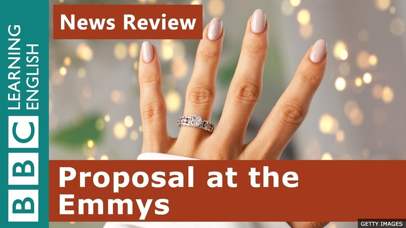 Will you marry me? proposal at the Emmys: News Review