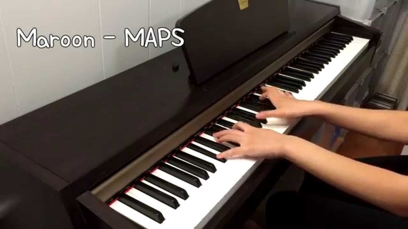 Maroon5 - Maps Piano Cover (Ft. 빅스 VIXX - On and On 다칠 준비가 돼 있어)