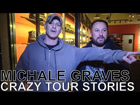 Michale Graves (ex- Misfits) - CRAZY TOUR STORIES Ep. 599
