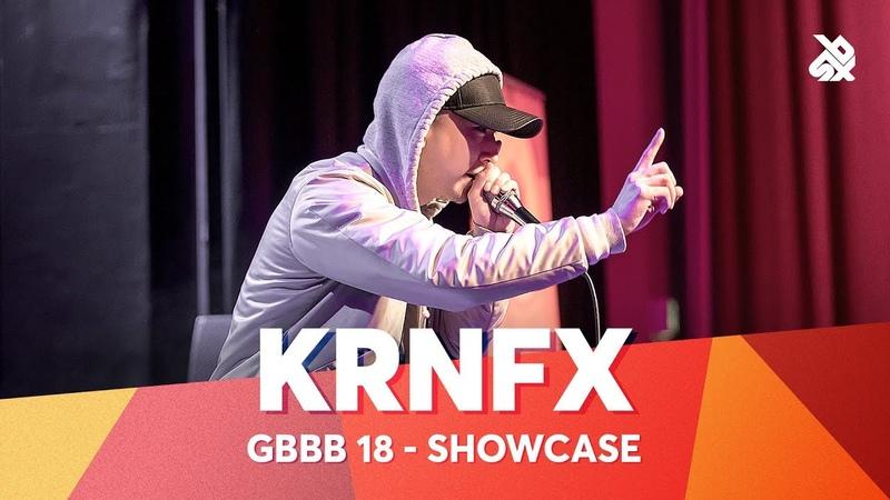 KRNFX Grand Beatbox Battle Showcase 2018