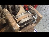 Как заменить задние тормозные колодки на Opel
