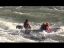 Экстремальное прохождение Семинского порога на моторной лодке. Инструктор Евгений.