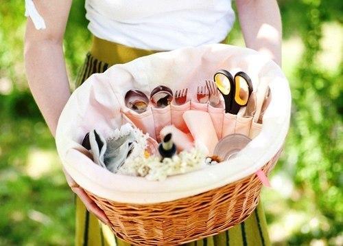 Усовершенствованная корзина для пикника