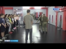 Волгоградские школьники побывали на экскурсии в отряде специального назначения «