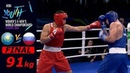FINAL (91kg) Oralbay Aibek (Kazakhstan) vs Fedorov Igor (Russia) /AIBA Youth World 2018/
