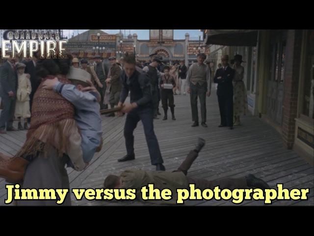 Boardwalk Empire- Jimmy versus the photographer