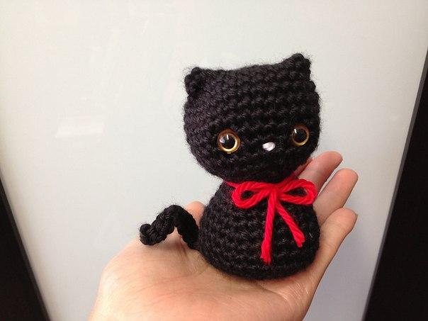 Кот амигуруми. Схема вязания