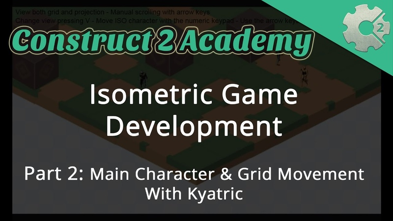 Isometric Game Development Part 2: Main Character and Grid Movement - with Kyatric