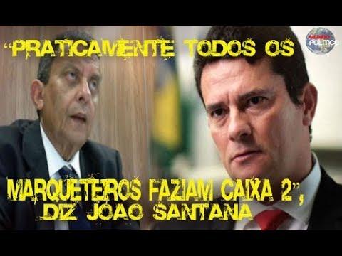 """""""Praticamente todos os marqueteiros faziam caixa 2"""", diz João Santana"""