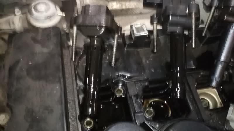 Mercedes Benz E200 Kompressor (W211) M271.941 (Ремонт ДВС) Разборка ч.1