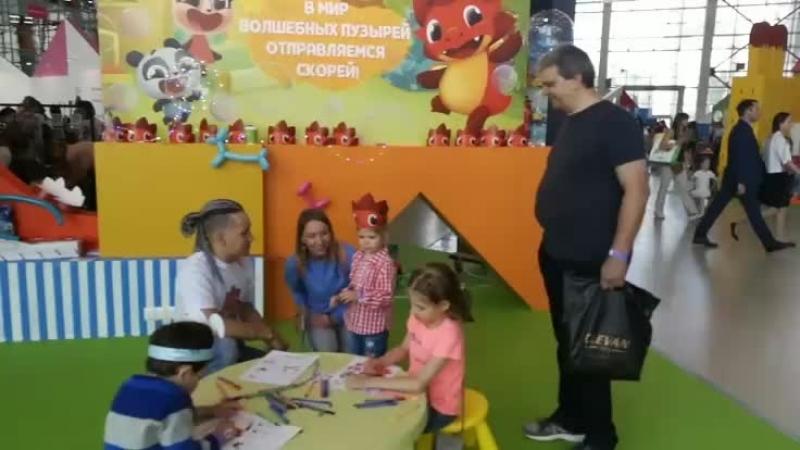 Парад Мультгероев на фестивале Мультимир-2018