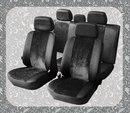 Коллекция: Чехлы на автомобильные сиденья AKUBA.  Черные авточехлы из современных материалов на поролоновой основе с...